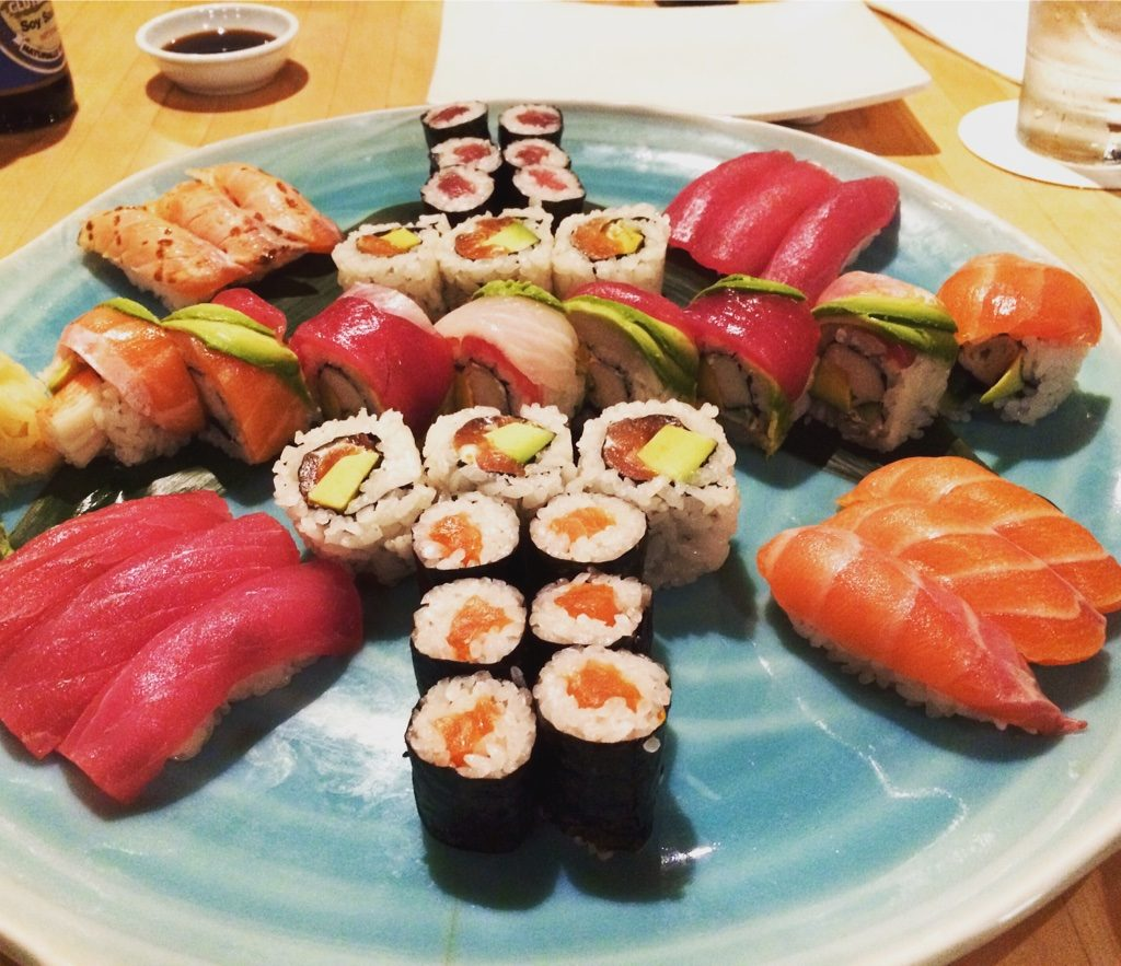 Sushi we had in Sydney (Australia)