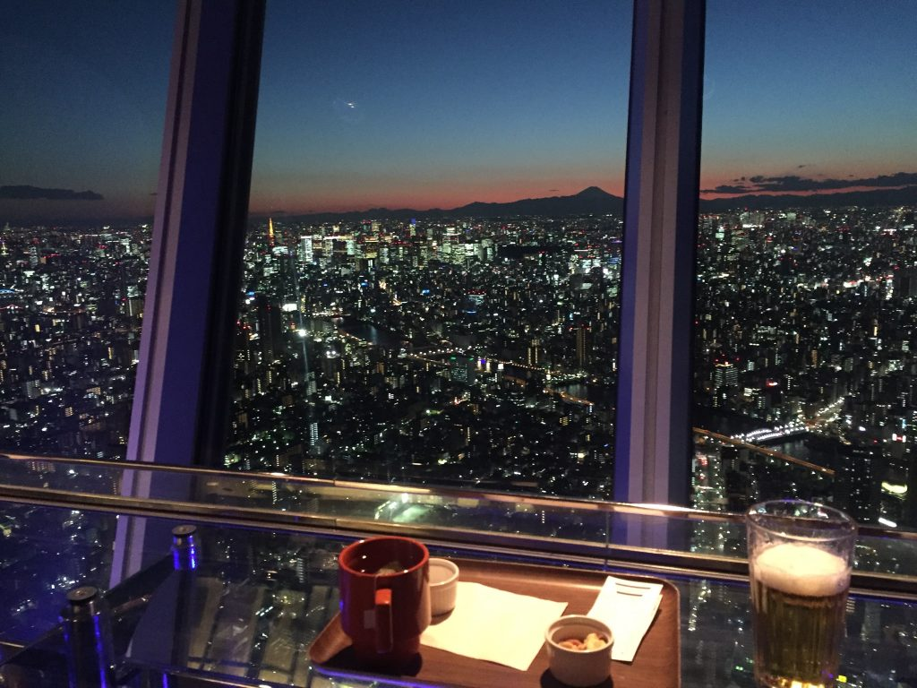 View from the TokyoSky Tree Tokió