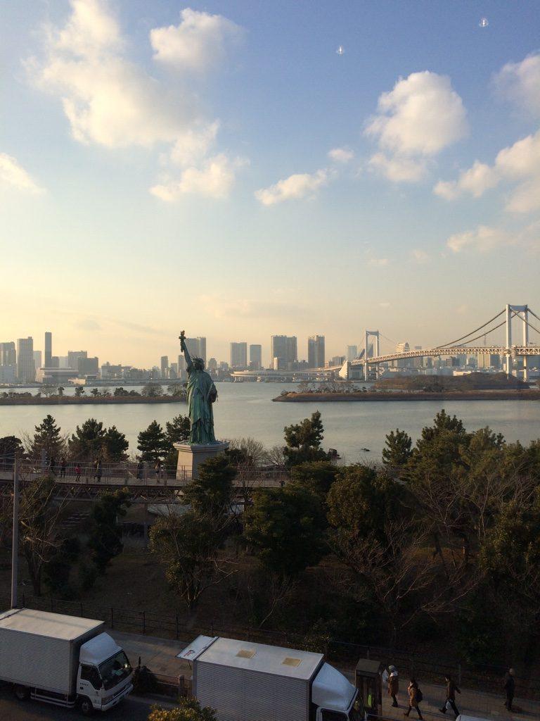 tokyo neighborhoods odaiba