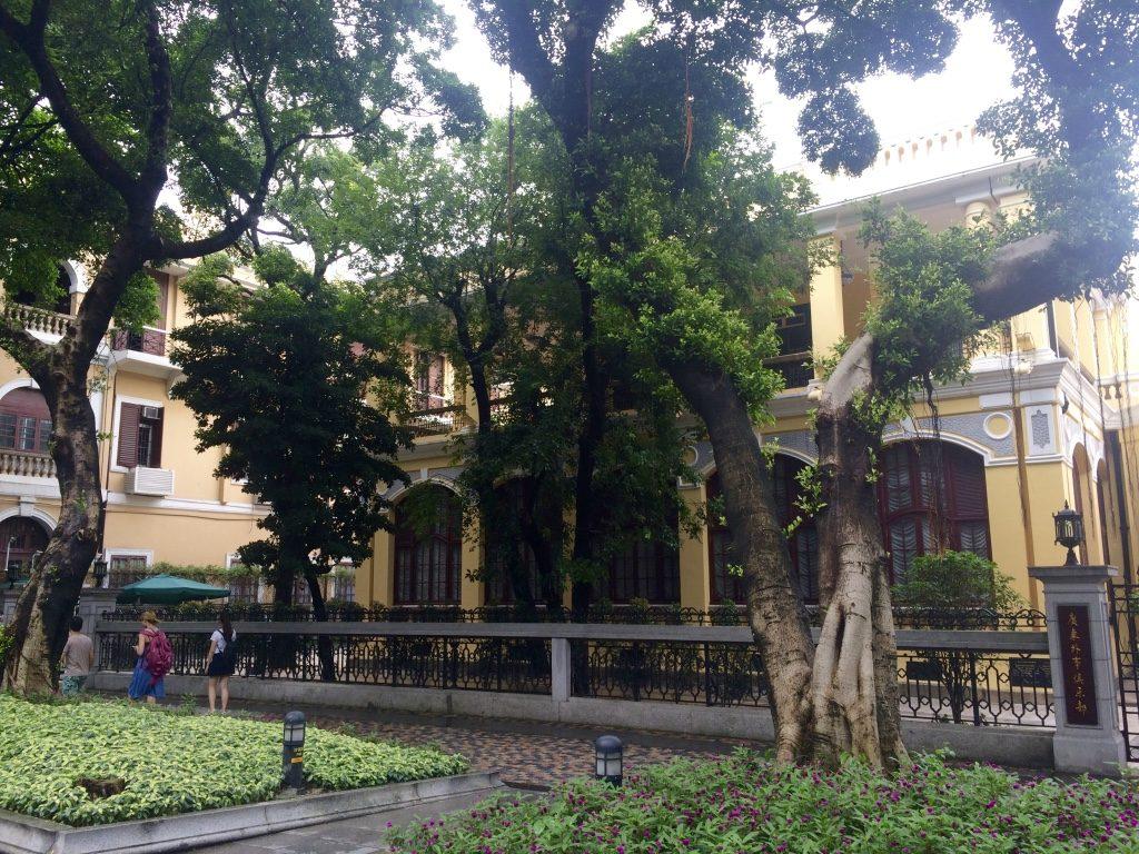 Shamian island in Guangzhou