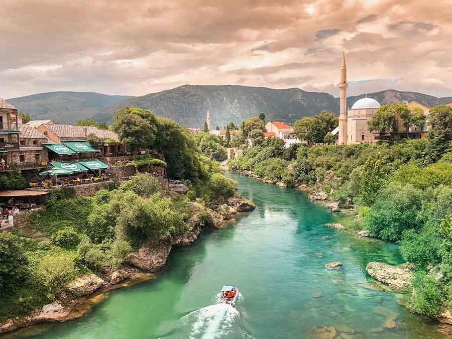 Mostar - Bosznia és Hercegovina - Judit Travels