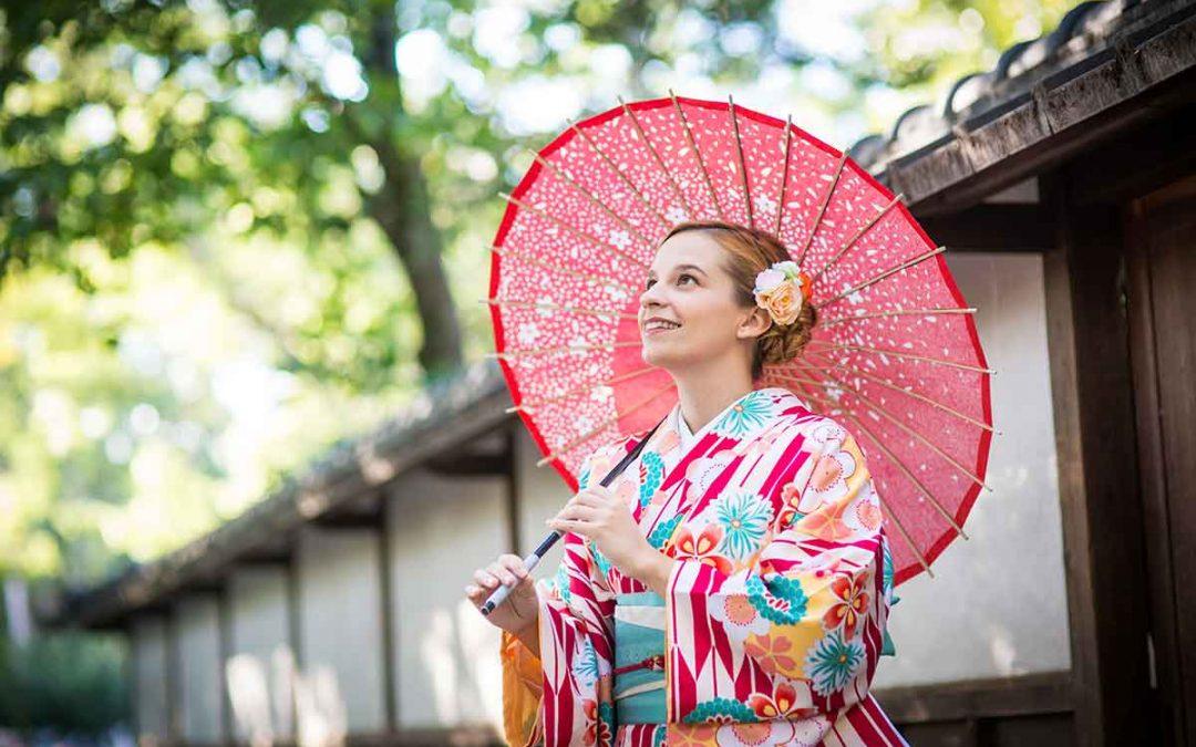 Felpróbáltam egy japán kimonót